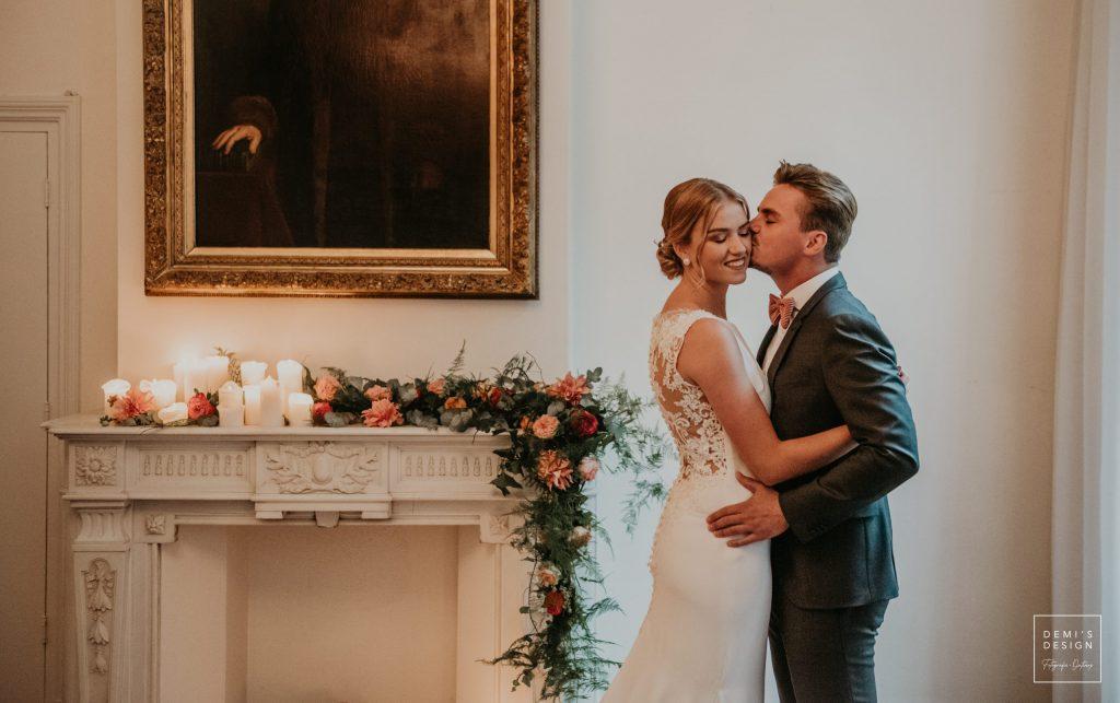 Bruidspaar geeft elkaar het ja woord!